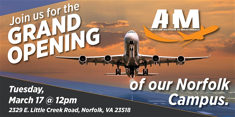 AIM Norfolk - Grand Opening