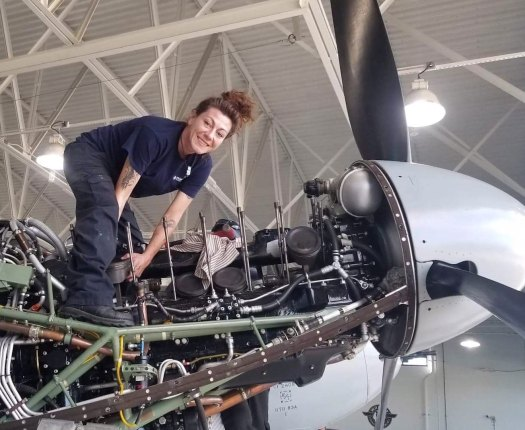 AIM Norfolk Grad - Fixing Plane at the Fighter Factory