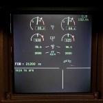 Airbus ECAM EWD Engine Warning Display