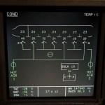 Airbus ECAM System Display - Conditioning