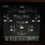 Airbus ECAM System Display - Flight Controls