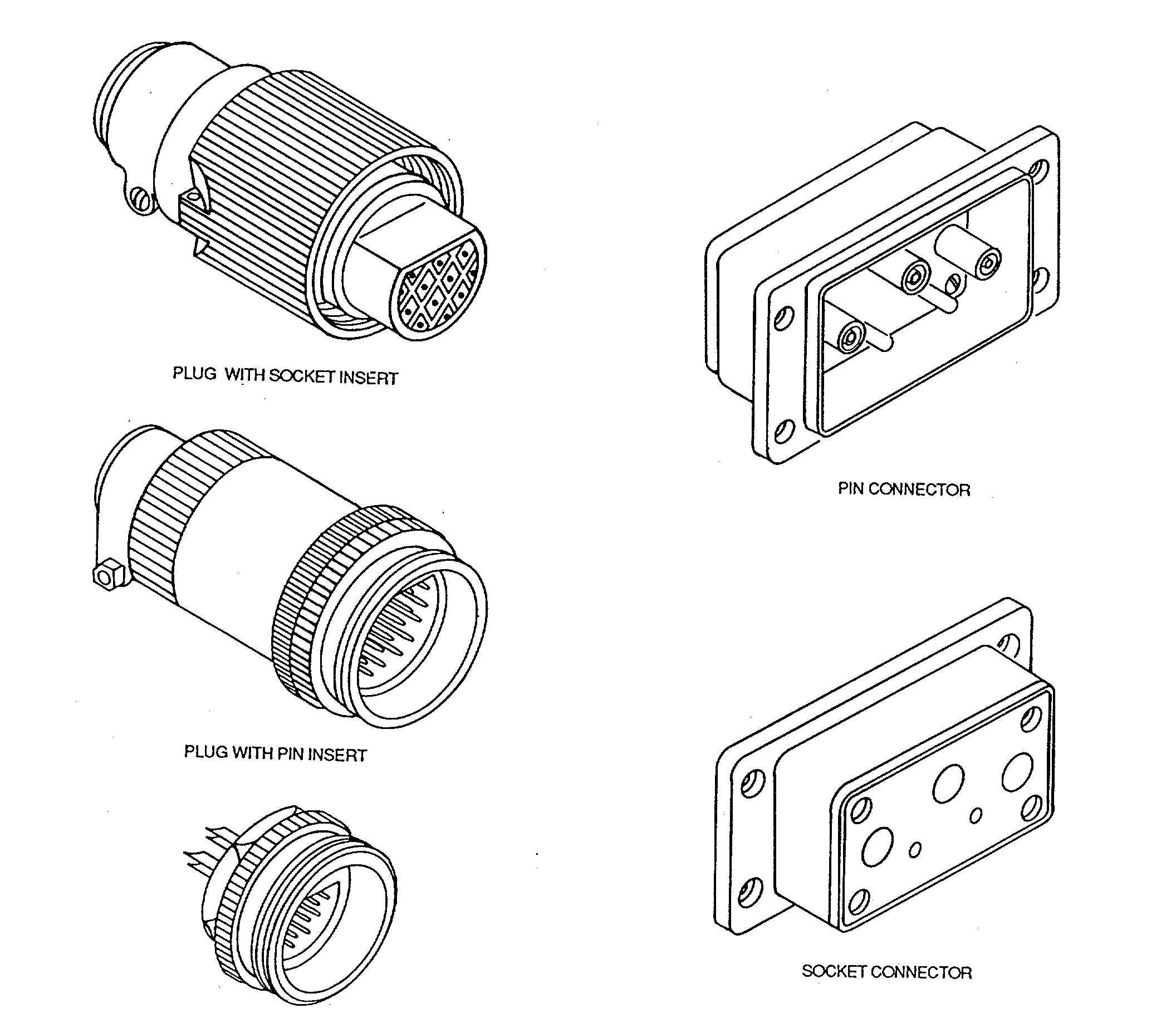 Figure 3 5 Subminiature Connectors