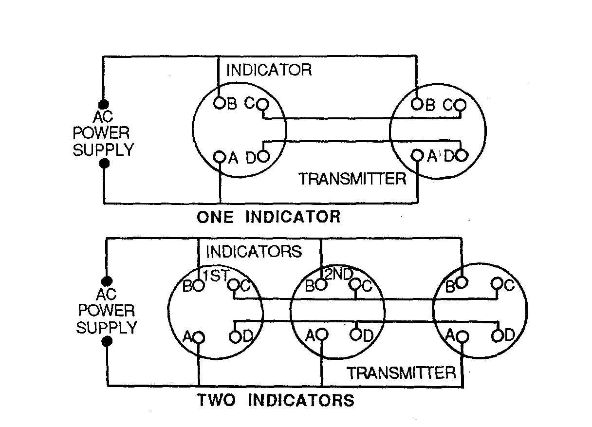 Figure 4 24 Remote Indicating Compass Wiring Diagram