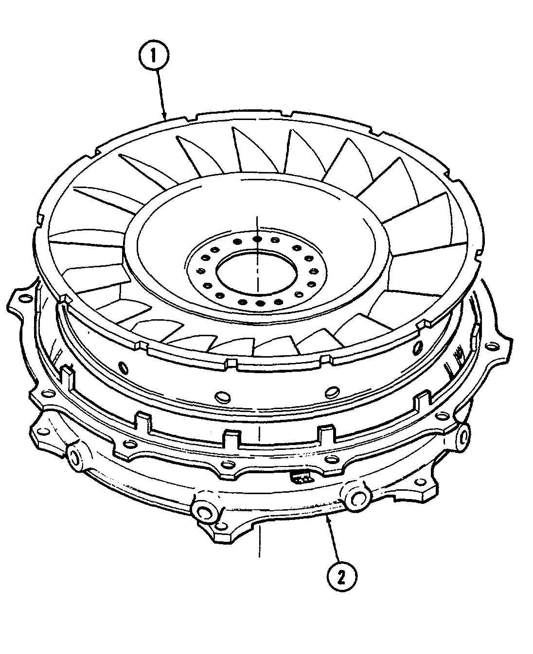 Power Turbine Stator Assembly Avim