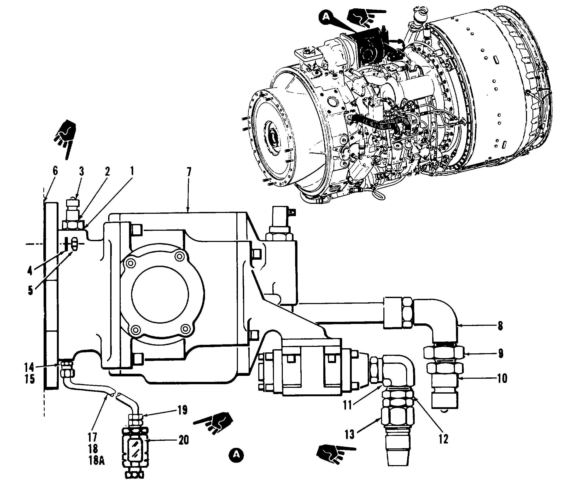T55 Turboshaft Engine