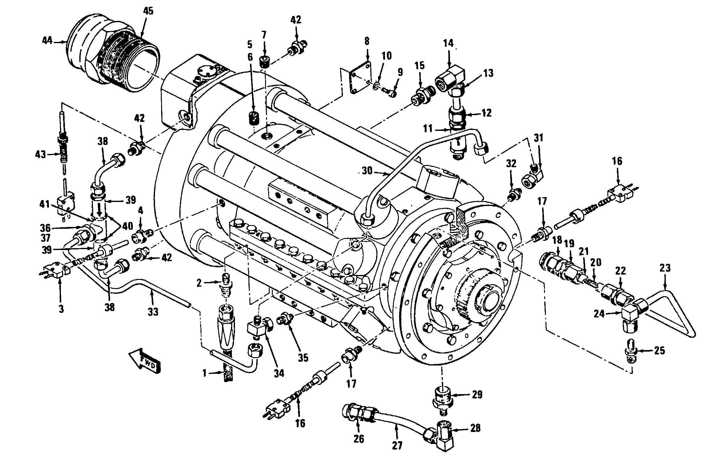 T55 Turboshaft Power Absorption System Maintenance
