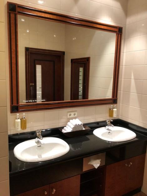 Emirates Lounge Frankfurt WC