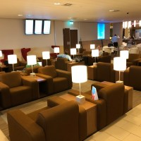 KLM CROWN LOUNGE AMSTERDAM - REVIEW