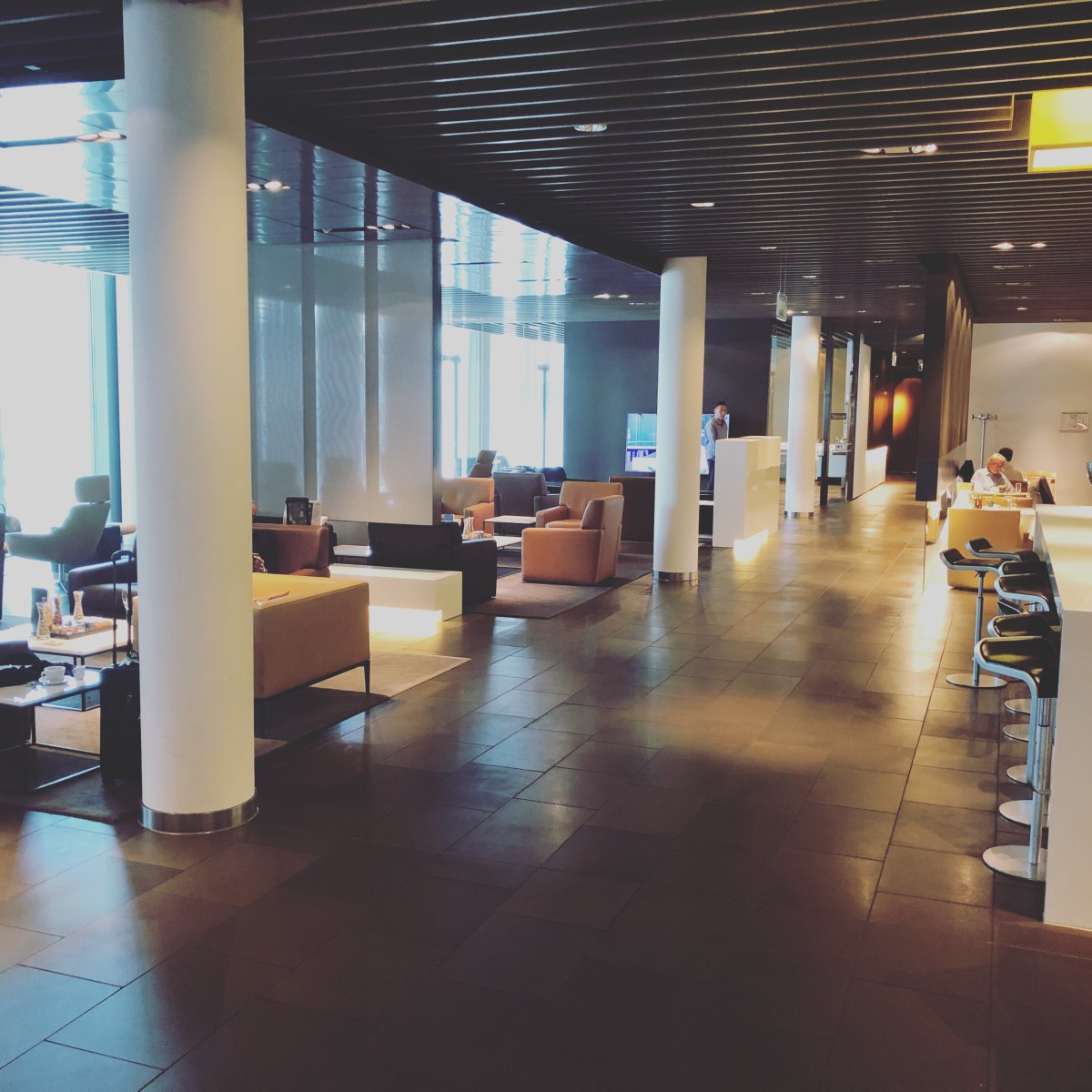 LUFTHANSA FIRST CLASS TERMINAL FRANKFURT - REVIEW