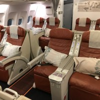 SRI LANKAN AIRLINES A330-200 BUSINESS CLASS DOHA NACH COLOMBO - REVIEW