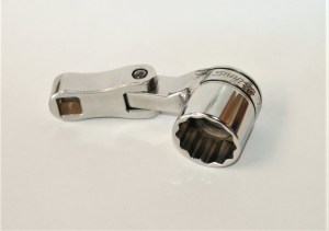 Short Flex Turbo Spark Plug Socket