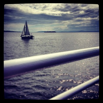 Champlain sailboat