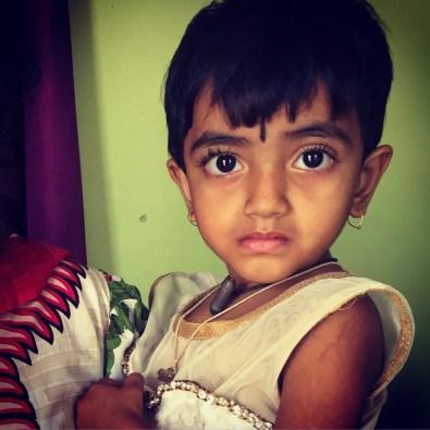Gorgeous kid in Karnataka