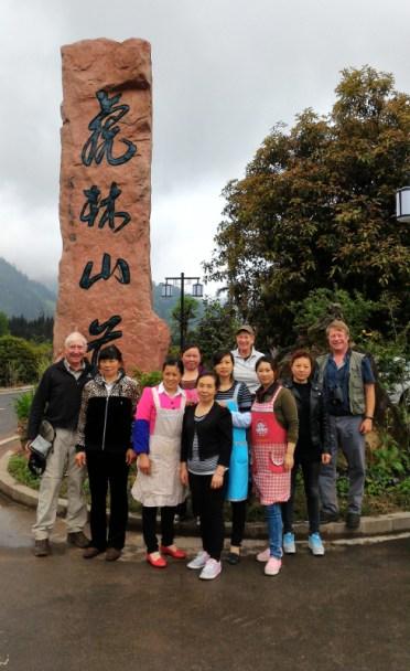 Staff at the Hulin Hotel