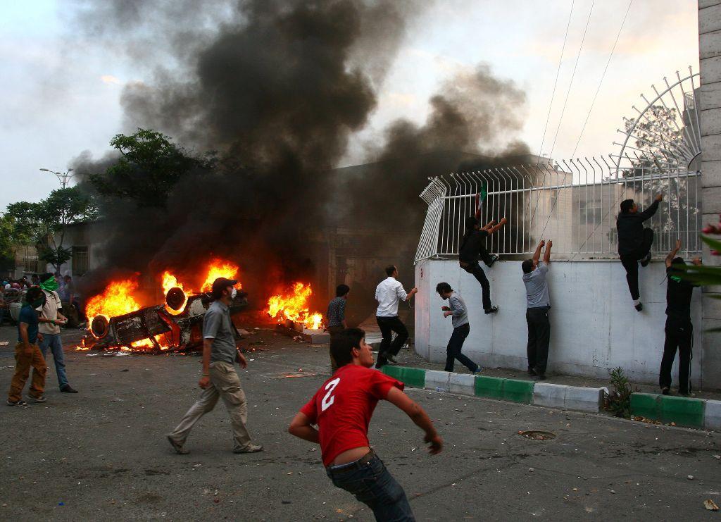 Iran, Basiji Headquarters attack