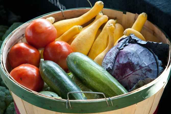 assorted variety of vegetables on basket
