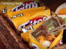 10 Camping Hacks Taco in a bag