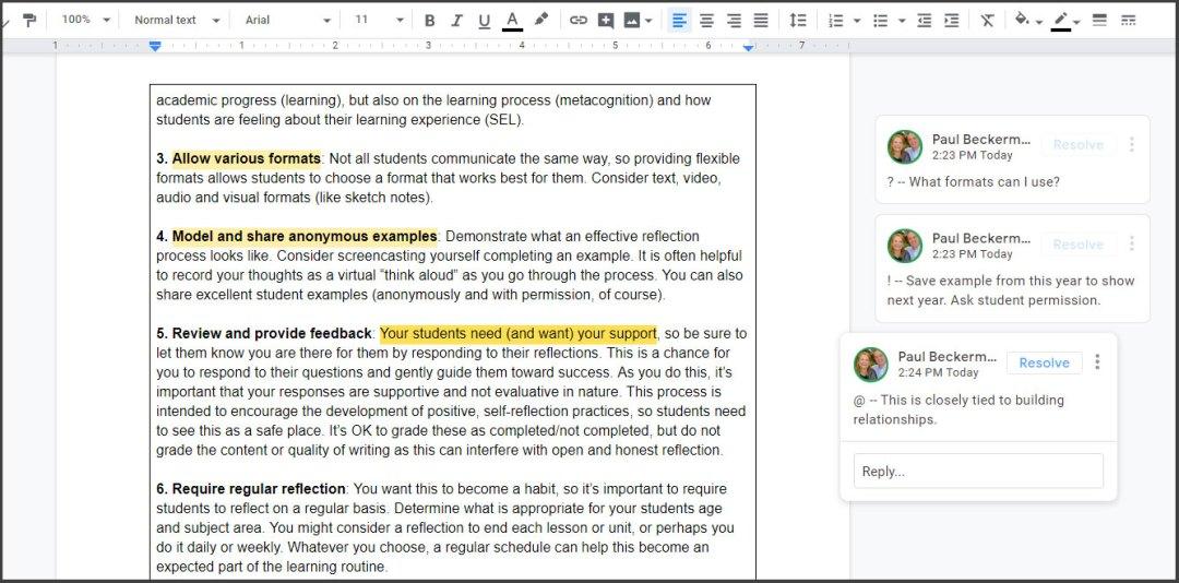 Highlight tool in Google Chrome