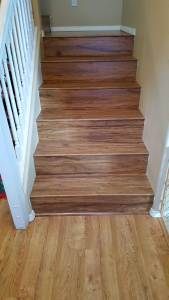 Laminate Floor Stairs