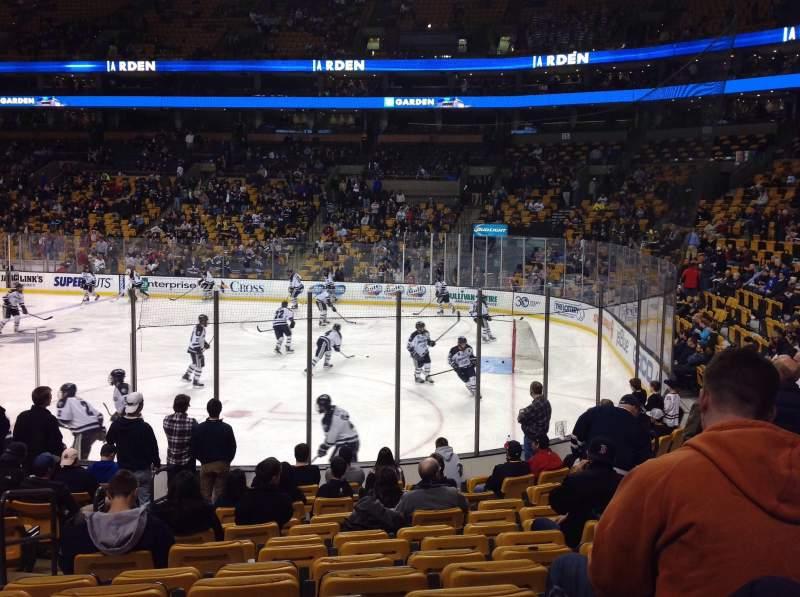 Td Garden Section Loge 20 Home Of Boston Bruins Boston