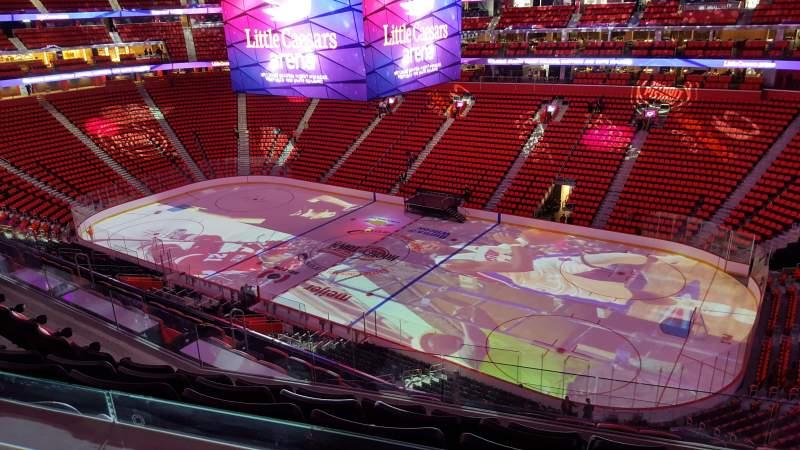 Pistons Detroit View Stadium