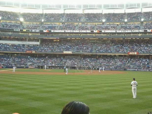 Yankee Stadium Section 105
