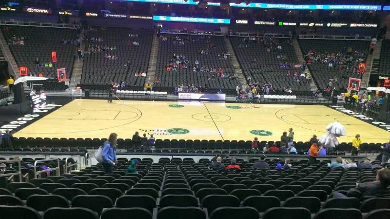 Sprint Center Seating