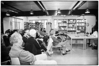 La presentazione degli incontri 2018-2019 dell'associazione Circolarmente, avvenuta nella biblioteca Primo Levi il 5 ottobre 2018