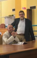 Andrea Archinà, sindaco di Avigliana e Luigi Castagna, Arte per voi