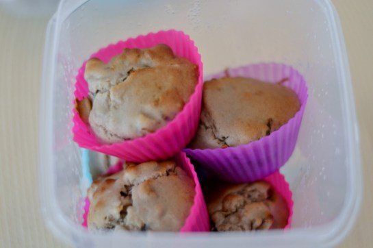 Funky-Monkey-Banana-Muffins aus Vegan for Youth