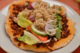 türkische Pizza aus Vegan for Fun