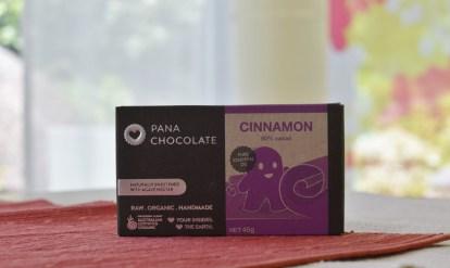 Pana Chocolate vegane Rohkostschokolade
