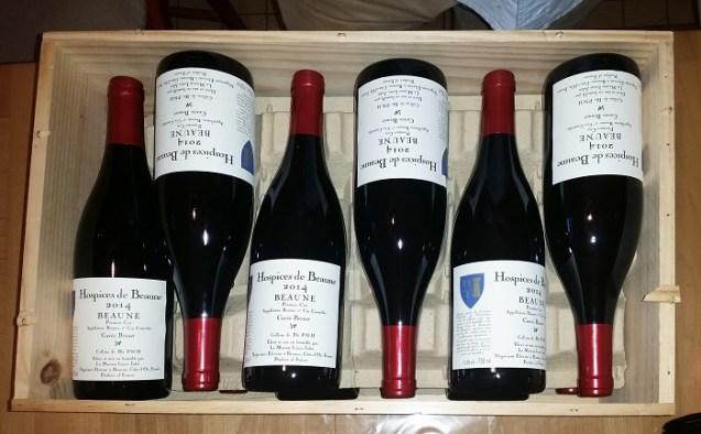 Burgundy Hospice de Beaune auction