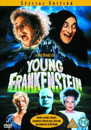 DVD of Mel Brook's Young Frankenstein starring Marty as Igor