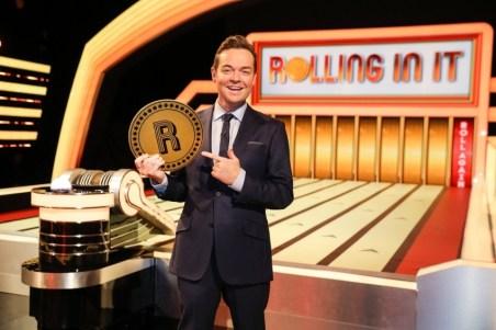 Stephen Mulhern presenter of Rolling In It