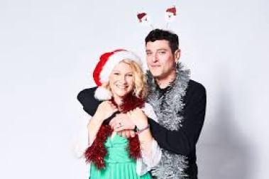 Joanna Page and Mathew Horne on BBC Radio Wales this Christmas
