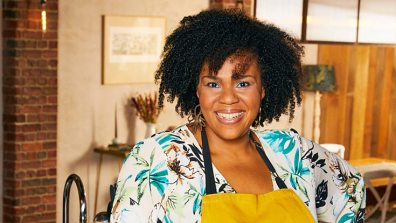 Desiree Burch in Celebrity Home Cook 2021