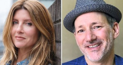 Sharon Horgan and Jeff Astrof co-writers of Shining Vale