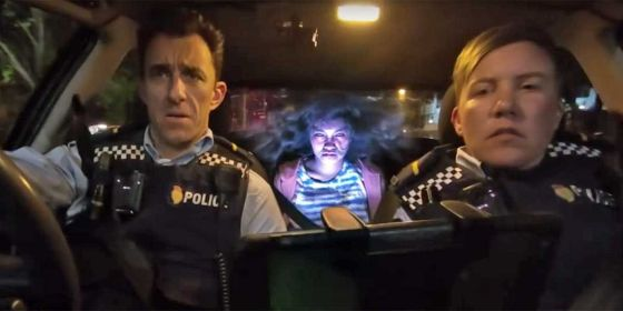 Wellington Paranormal hilarious dry comedy with Officer O'Leary (Karen O'Leary) and Officer Minogue (Mike Minogue)