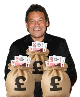 Craig Charles is to hoost a new game show called Money Bags