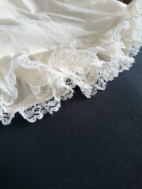 The lace for the underdress came from the stash.
