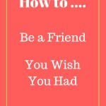 God and Designer Clothes Part 2: How to Be a Friend