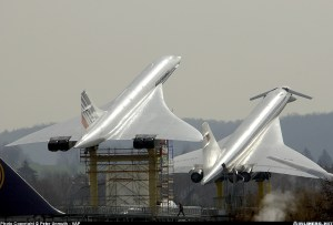 Tu-144 Ruso y Concorde, juntos para siempre...