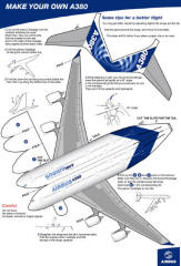 El Avión de pasajeros mas grande del mundo A380 (2/5)