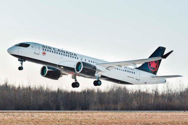 Airbus A220-300 Air Canada