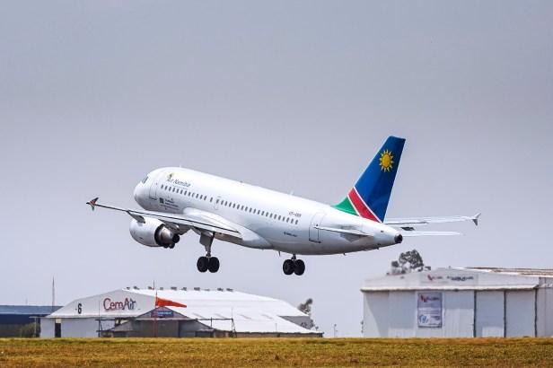 Airbus A319 de Air Namibia