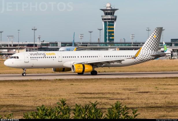 Airbus A321 de Vueling