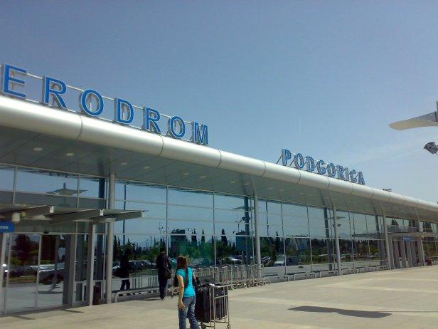 Aeropuerto de Podgorica en Montenegro