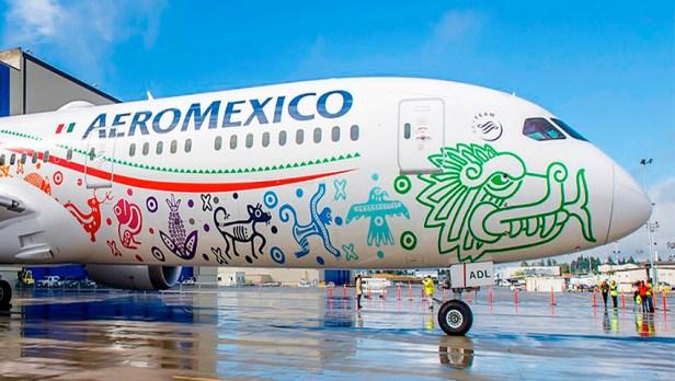 Boeing 787 Quetzalcoatl de Aeromexico