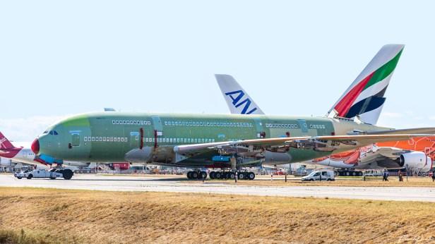 Último Airbus A380